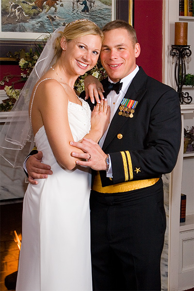 A Navy wedding