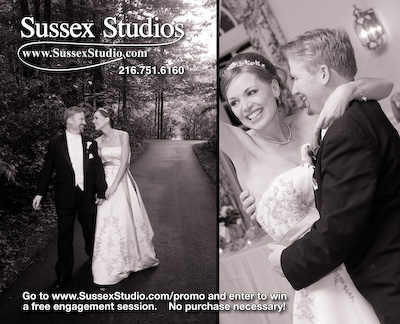 Sussex Studios Wedding Promotional Card